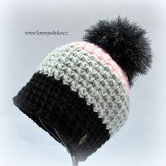 Kulíšek véčkový Tulip Big · Návody háčkování Krampolinka Free Crochet, Crochet Hats, Tulips, Winter Hats, Crochet Patterns, Beanie, Big, Beanies, Breien