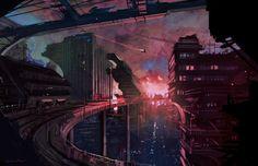 Sci Fi Speed 4-19-12 by Sarafinconcepts.deviantart.com on @DeviantArt