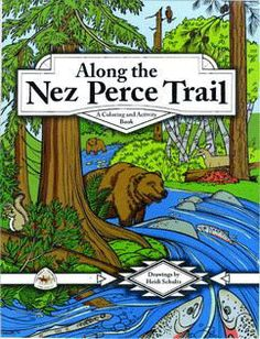 FREE- Nez perce coloring books to print ! Book Activities, Hands On Activities, 5th Grade Social Studies, America Girl, History Class, Parents As Teachers, American History, Coloring Books, Homeschool