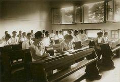 Klas van de HBS te Soerabaja, 1927