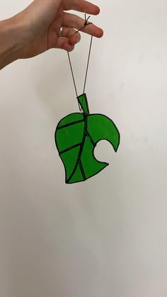 Find more @everglowglass on instagram Animal Crossing Leaf, Glass Cutter, Leaf Logo, Glass Animals, Cute Home Decor, Sun Catcher, Stained Glass Art, Modern, House
