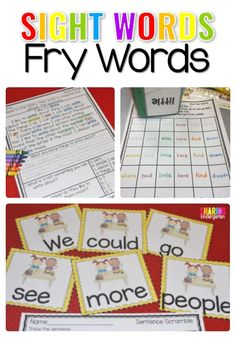 Sight Words Fry Word