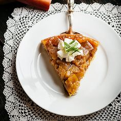 Rebarborový koláč Tarte Tatin - recept krok 10