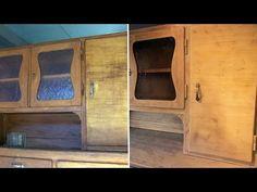 Shabby Chic Tutorial - alte Möbel/Kommode aus Eiche mit Kreidefarbe/Chalk Paint streichen I How to - YouTube