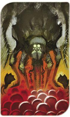 Dragon Age Inquisition Tarot - Nightmare