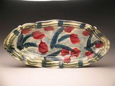 Betty Woodman- Platter Flowers
