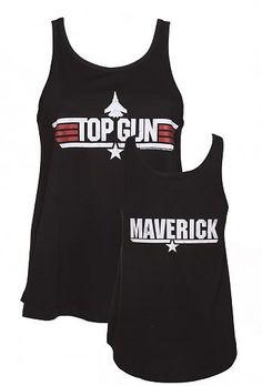 Ladies Black Top Gun #Maverick Swing #Vest from #TruffleShuffle xoxo