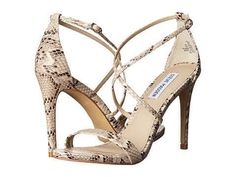 These snakeskin heels for $39.99.
