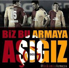 Armaya aşığız! #Galatasaray