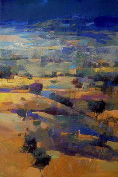 Pastel Landscape, Abstract Landscape Painting, Landscape Art, Landscape Paintings, Muse Art, Amazing Paintings, Impressionist Art, Beautiful Drawings, Cool Art