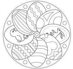 Easter mandala
