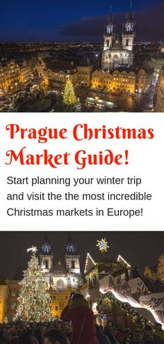 Prague Christmas Market MEGA Guide - Learn all about the festive Xmas markets in Prague with our huge guide. Prague's Christmas markets are awesome! Prague Christmas Market, Christmas Markets Europe, Christmas Travel, Holiday Travel, Christmas 2019, Christmas Decor, Travel Info, Cheap Travel, Travel Articles