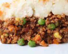 Beyond Beef Shepherd's Pie - so good, and you can speed up the process with TJ's frozen mashed potatoes.