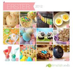 Last Minute #Easter Ideas © Limefish Studio  // For the 2013 Recipe Roundup, visit: http://limefishstudio.blogspot.com/2013/03/recipe-roundup-easter.html