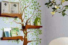 Kreatív gyerekszobák. Ötletes fali dekorációk ovisok, kisiskolások számára