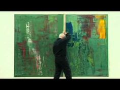GERHARD RICHTER AND HIS SQUEEGEE