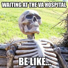Surviving a Trip to the VA - A Step-By-Step Process: http://uniformstories.com/military/humor/surviving-a-trip-to-the-va-a-step-by-step-process