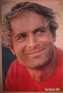 Terence Hill…he looks like an older Rob Lowe!