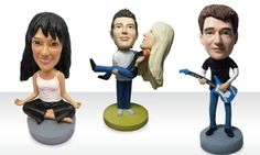 Groupon - $ 49.99 for $105 Worth of Custom and Regular Bobbleheads from AllBobbleheads.com in Online Deal. Groupon deal price: $49.99
