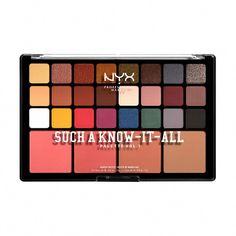 Make Up Palette, Nyx Palette, Smokey Eye Palette, Nyx Eyeshadow, Makeup Shop, Makeup Brands, Makeup Kit, Eyeshadow Makeup, Drugstore Makeup