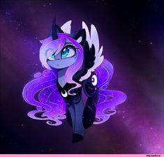 my little pony,Мой маленький пони,фэндомы,MagnaLuna,artist,mlp art,Princess Luna,принцесса Луна,royal