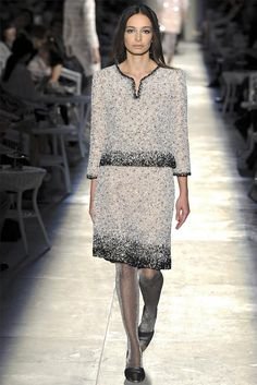 "Paris Haute Couture Fashion Week: Chanel fall 2012 ""New Vintage"""