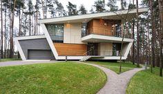 "Gorki House or ""House in Gorky-6"" is Acontemporary piece ofarchitecture designed byAtrium ArchitectsinGorki Village near Moscow, Russia. Gorki House"
