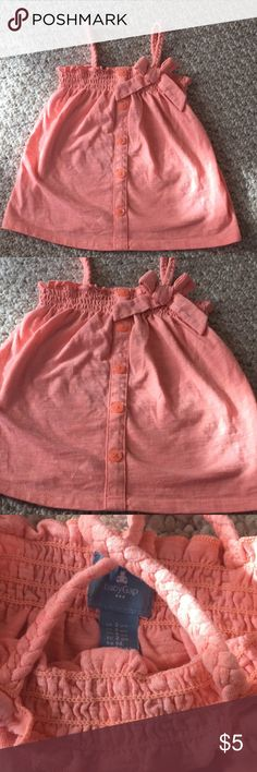 Spaghetti Orange Top Like New! Baby Gap Pretty top GAP Shirts & Tops Camisoles