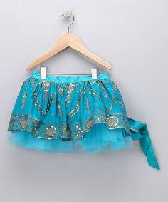 Sha Sha Kids Couture: Bright Sky Blue Tutu