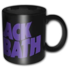 Black Sabbath Wavy Logo Black Mug Cup Official Licensed Music