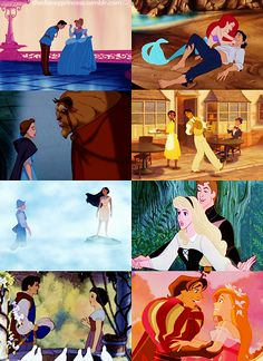 First Meetings. gotta say Tiana's is my favorite! she just totally blows him off!