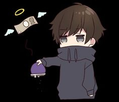 Chibi Boy, Cute Anime Chibi, Kawaii Chibi, Anime Kawaii, Memes Lindos, Chibi Sketch, Cool Anime Guys, Anime Expressions, Chibi Characters