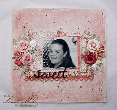 Adorable layout from Lenet Mos.