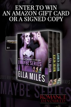 Win Signed Copies or a $10 Amazon Gift Card from Author Ella Miles