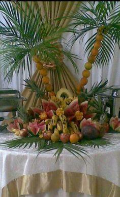 Decoracion para eventos on pinterest for Decoracion de frutas para fiestas infantiles