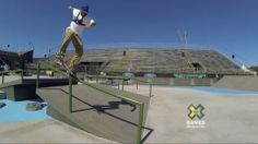 GoPro: Ryan Sheckler Skateboard Street Course Preview - Summer X Games 2013 Foz Do Iguacu - http://DAILYSKATETUBE.COM/gopro-ryan-sheckler-skateboard-street-course-preview-summer-x-games-2013-foz-do-iguacu/ -   Shot 100% on the HERO3® camera from http://GoPro.com.  Cruise the Foz Do Iguacu Street Course with GoPro skater Ryan Sheckler at the 2013 Brazilian X Games!  Check out more 2013 Brazilian X Games action at: http://xgames.espn.go.com/  Music Courtesy of ESPN - 2013