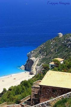 Mylos, a photo from Lefkada, Ionian Islands   TrekEarth