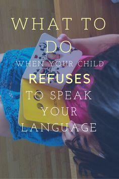 What to do when your child refuses to speak your language? (MKB vlogging telephone) : the piri-piri lexicon