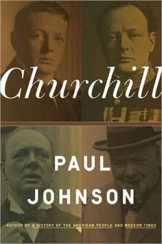 Churchill by Paul Johnson -- I'd never read a book about Churchill before, so I learned a few things about him that I didn't already know. This book cost me $1 at a dollar store, it costs $18.65 at Barnes & Nobles, so I think I got a great deal on it.