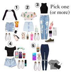"""""""pick one! (or more than one)"""" by rosita562 ❤ liked on Polyvore featuring mode, Topshop, Forever 21, MANGO, T By Alexander Wang, Victoria's Secret, River Island, H&M, Wildflower en Converse"""