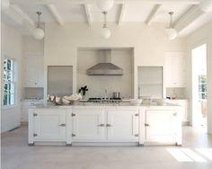 divine white kitchen
