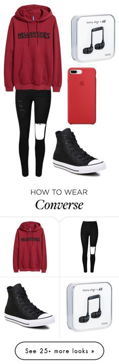 """Outfit"" by andreeadeeix12 on Polyvore featuring Converse"
