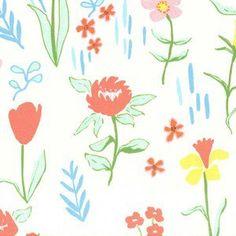 Sarah Jane - Sommer Canvas - Plockade Canvas in Bloom