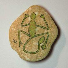 Irene Bat-Zvi - Stone - Lizard        Inspirational Motifs: Egyptian
