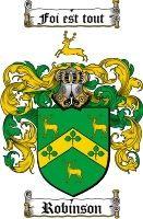 Robinson coat of arms / Robinson Family Crest