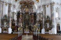 Innenansicht Basilika Ottobeuren (2) von Hans im Bild