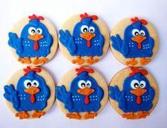 Decoração de festa da galinha pintadinha - http://www.boloaniversario.com/decoracao-festa-da-galinha-pintadinha/