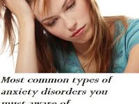 Most Common Types of Anxiety