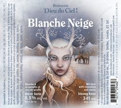 GOD OF HEAVEN   YANNICK BROSSEAU a beer I'd be willing to try. White with cinnamon and cloves