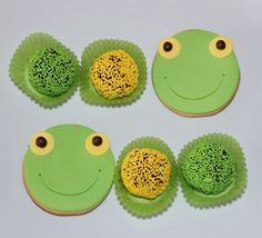 Sapo Pepe Cookies by Violeta Glace